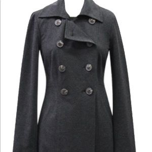 Vintage CAbi Ponte Trench Coat EUC in Charcoal XL